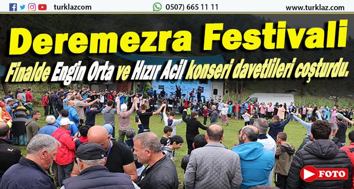 DEREMEZRA FESTİVALİ'NE YOĞUN İLGİ