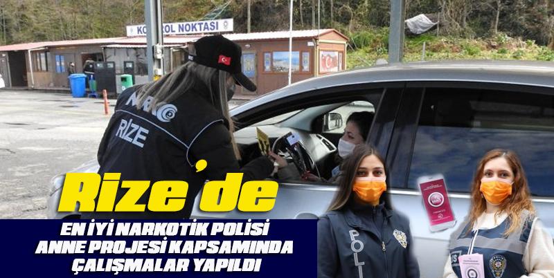 En İyi Narkotik Polisi Anne projesi