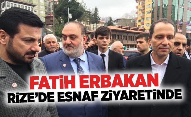 FATİH ERBAKAN RİZE'DE