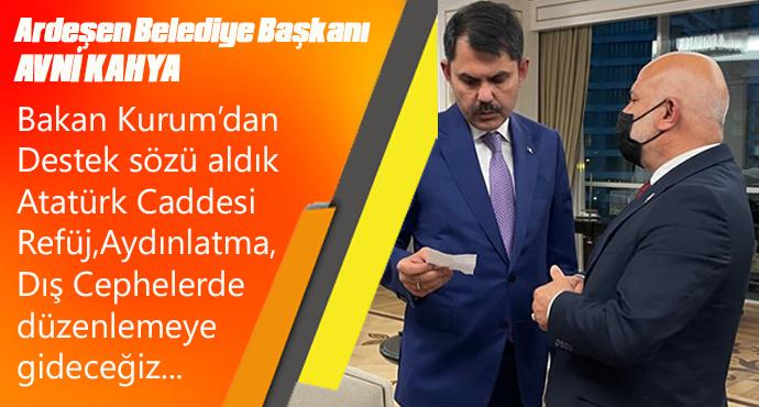 KAHYA: Atatürk Caddesinin çehresi değişecek