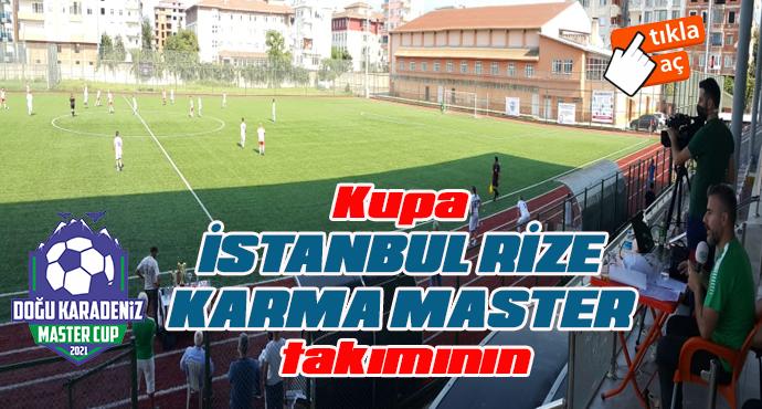 Kupa İSTANBUL RİZE KARMA MASTER takımının