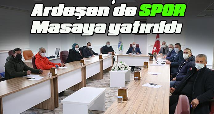 PANDEMİ GÖLGESİNDE ARDEŞEN'DE SPOR
