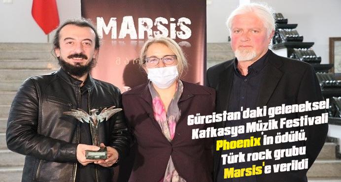 PHOENİX'in ödülü, Türk Rock Grubu MARSİS'e verildi