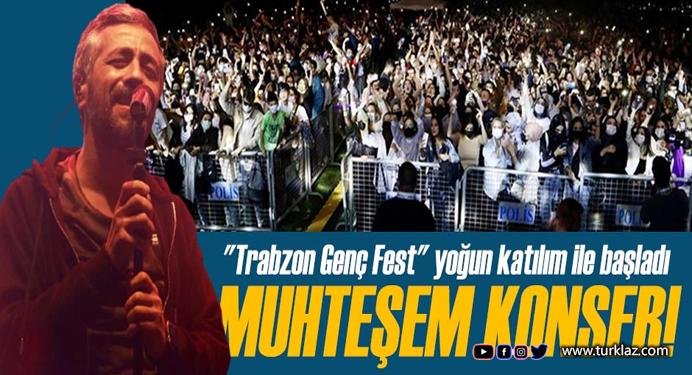 Resul Dindar'dan Trabzon'da muhteşem konser