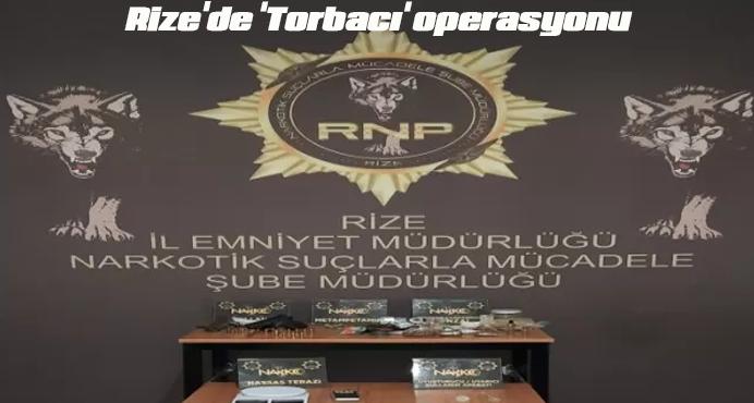 Rize'de Uyuşturucu Operasyonu 3 kişi Tutuklandı
