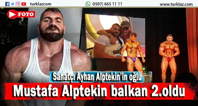 SANATÇI AYHAN ALPTEKİN'İN OĞLU BALKAN 2.OLDU