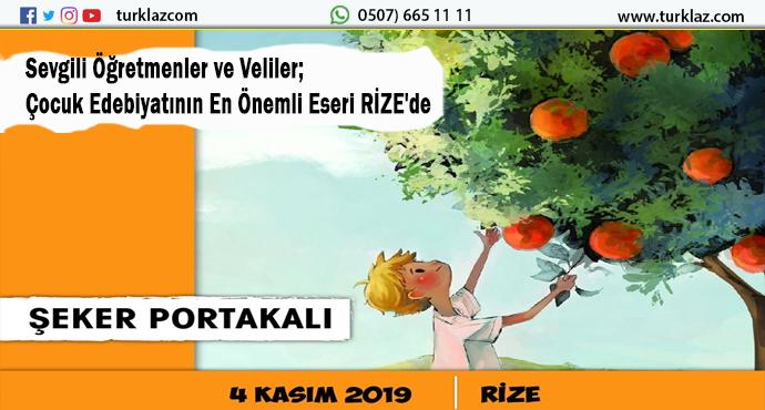 ŞEKER PORTAKALLI RİZE'DE