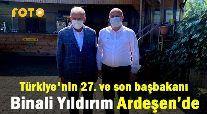 TÜRKİYE'NİN SON BAŞBAKANI ARDEŞEN'DE