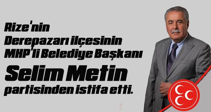 MHP\'li Belediye Başkanı partisinden istifa etti