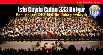 333 TULUM'LA GUINNESS REKORU