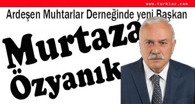MURTAZA ÖZYANIK DERNEK BAŞKANI SEÇİLDİ