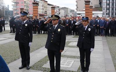 ARDEŞEN POLİS TEŞKİLATI KUTLAMALARI