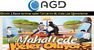 AGD LİSELİLERE ÖZEL ETKİNLİK...81 İLDE.