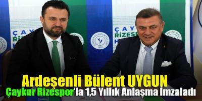 Ardeşenli Teknik Direktör Ç.Rizespor'la sözleşme imzaladı