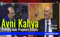 AVNİ KAHYA PROJELERİNİ ÇAY TV'DE ANLATTI