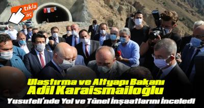 BAKAN ADİL KARAİSMAİLOĞLU ARTVİN'DE