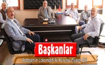 BAŞKANLARDAN 'STK' ZİYARETİ
