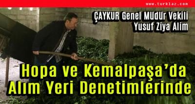 ÇAY ALIM YERLERİNDE DENETİM