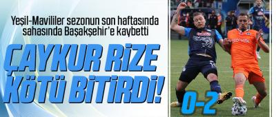 Çaykur Rizespor  0  Medipol Başakşehir 2