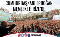 CUMHURBAŞKANI ERDOĞAN RİZE'DE
