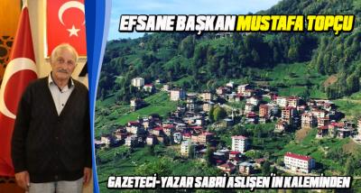 EFSANE Başkan Mustafa Topçu
