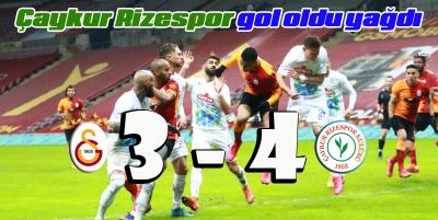 Gol duellosunda kazanan Çaykur Rizespor 3-4