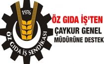 İŞÇİ SENDİKASI 'ÖZGIDA-İŞ' ÇAYKUR'A TAM DESTEK