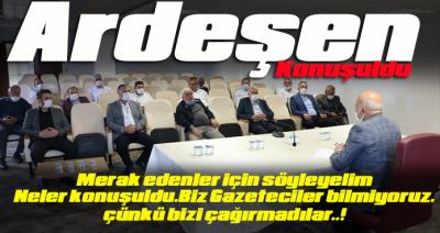 KONU ARDEŞEN,AMA GAZETECİ YOK..!
