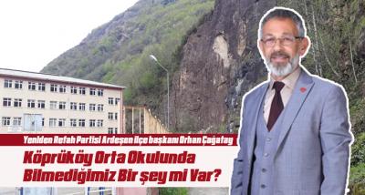 Köprüköy Orta Okulunda Bilmediğimiz Bir şey mi Var?