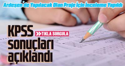 KPSS LİSANS SINAV SONUÇLARI AÇIKLANDI.TIKLA..