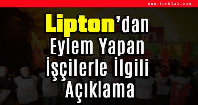LİPTON İŞÇİLERİNE DUYURU