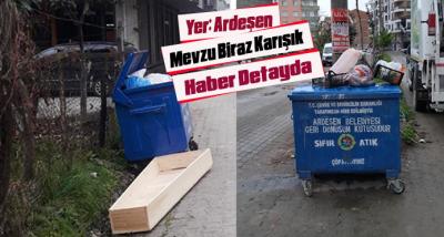 Mevzu Çöp Kutusu...Yer: Ardeşen İlçesi