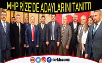 MHP RİZE'DE ADAYLAR TANITILDI