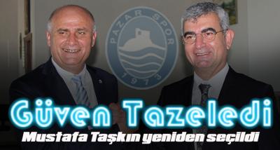 Mustafa Taşkın yeniden seçildi