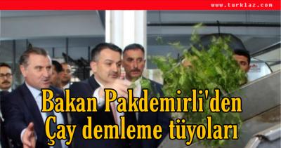 PAKDEMİRLİ'DEN TÜYOLAR