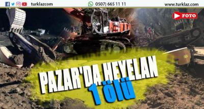 PAZAR'DA HEYELAN....1 ÖLÜ VAR....