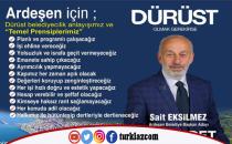 SP ARDEŞEN'DE PROJELERİYLE GÜNDEMDE