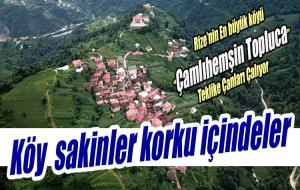 TOPLUCA KÖYÜ'NDE HER YIL