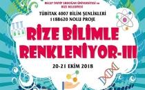 TUBİTAK BİLİM ŞENLİKLERİ 'RİZE'