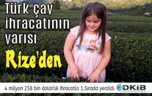TÜRKİYE'DE RİZE 1.SIRADA