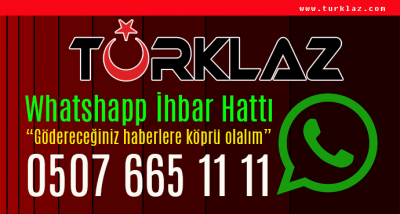 TURKLAZ.COM HABER İHBAR HATLARIMIZ